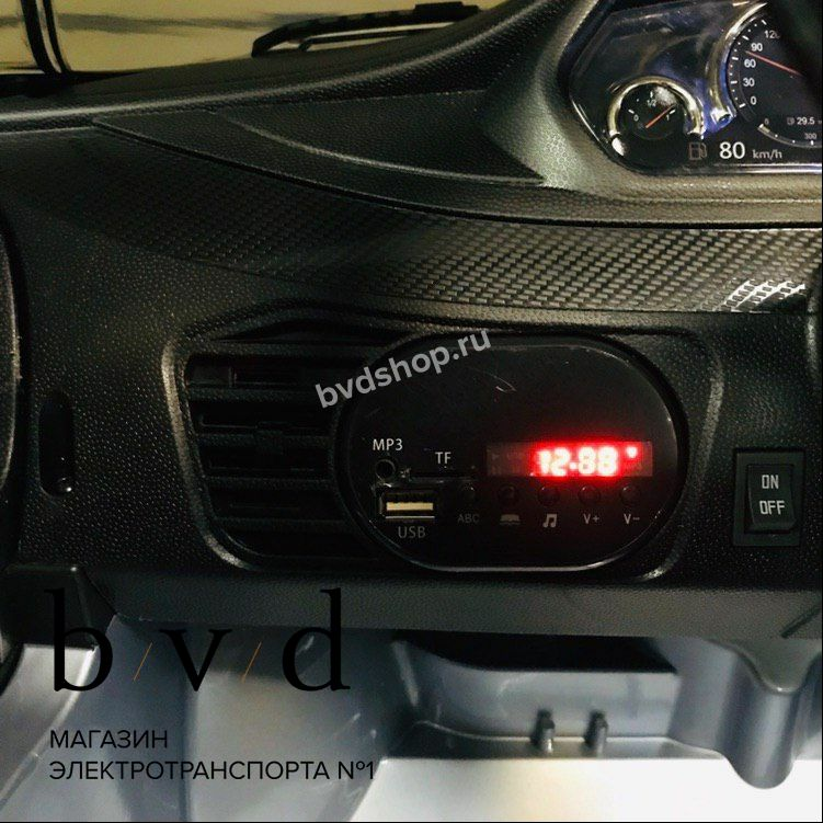 MP3 магнитола с USB, AUX, SD
